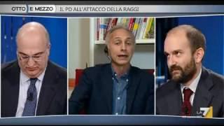 """Travaglio vs Orfini: """"Buzzi era un ergastolano!"""""""