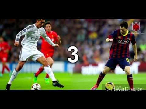 Cristiano Ronaldo vs lionel messi-Ahrix-nova-Alan walker-spectre Top 10 skills 2016/2017