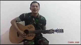 Anggota TNI AU Ganteng Bersuara Merdu Mirip Agus Yudhoyono | Akad - Payung Teduh