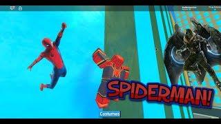 TSG Gaming: SPIDERMAN balanços em ROBLOX!! (Heróis Roblox de Robloxia)