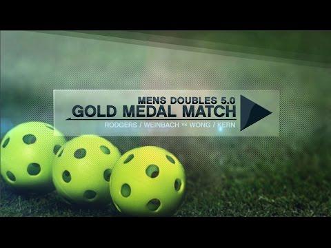 Impressive Gold Medal Men's Doubles 5.0 Pickleball Match!