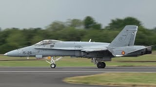 Spanish Air Force EF-18 Hornet - Pushing the limits at RIAT