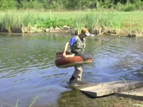 Float tubing youtube for Best fishing float tube