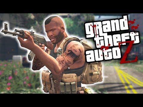 AO VIVO - GTA V ZOMBIES - PRECISO SAIR DE LOS SANTOS (GTA 5 MOD Survival Zombie) thumbnail