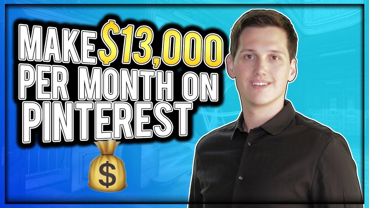 $13,000 Per Month On Pinterest [4 Easy Steps]