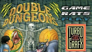 Double Dungeons (TurboGrafx 16) - Game Rats Play