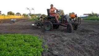 Максимальная скорость мотоблока Беларус-09Н МТЗ + 16 колеса )