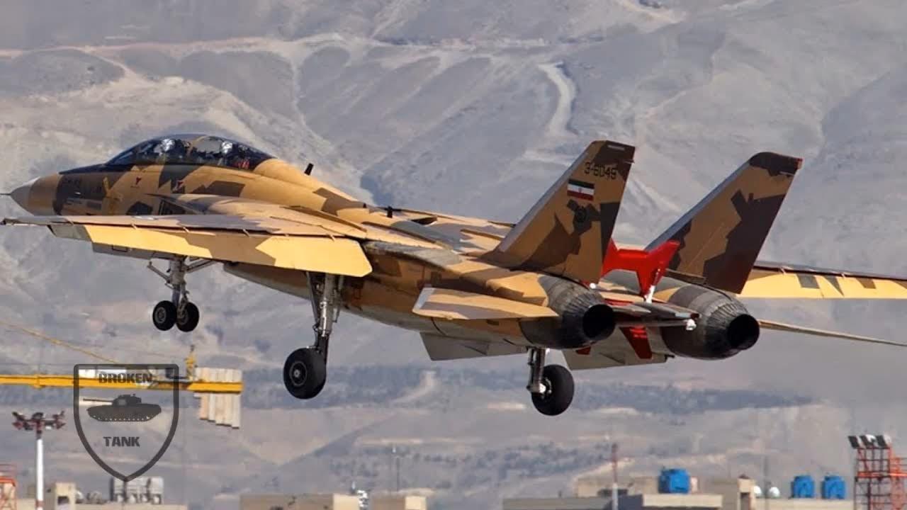 Iran vs U.S. : Could an Old F-14 Tomcat Kill the F-22 or F-35? - YouTube