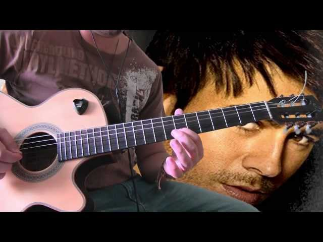 Enrique Iglesias - Loco ft. Romeo Santos guitar solo lesson tutorial Travel Video