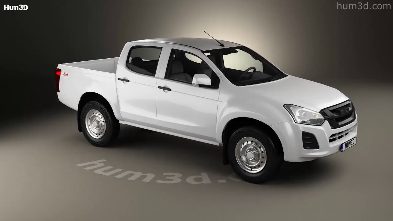 Isuzu D Max Double Cab Ute Sx 2017 3d Model By