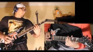 Sepultura Refuse Resist Territory Slave New World guitar cover with solos [freddypipes]