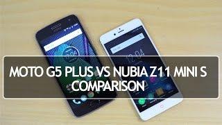 Moto G5 Plus vs Nubia Z11 Mini S- Comparison, Speed, Performance, Camera and Battery