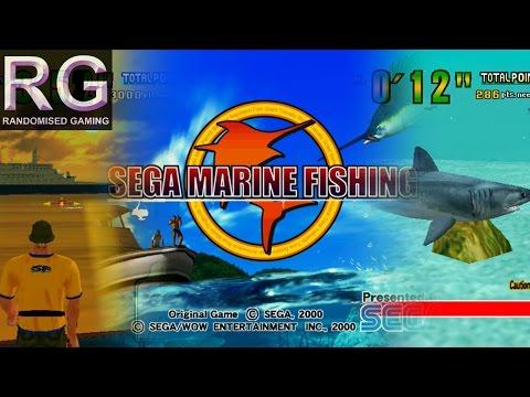 Sega Marine Fishing - Sega Dreamcast - Intro & Arcade Mode Playthrough & Full Aquarium [1080p 60fps]
