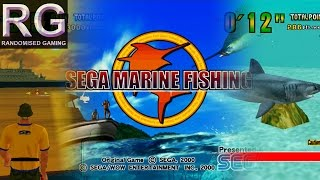 Sega Marine Fishing - Sega Dreamcast - Intro & Arcade mode playthrough & full aquarium [1080p 60fps]