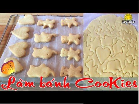 Làm bánh quy bơ l lÀm bÁnh cookies l tmthao