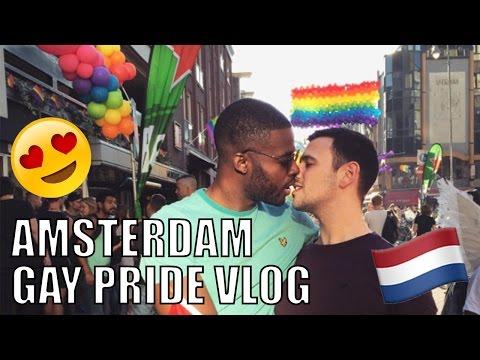 Gay Couple Amsterdam Pride 2016 Vlog!