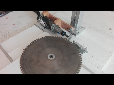 Circular/Saw Blade/Router Bit/Drill Sharpening System For DREMEL ,,HOW TO,, PART 2