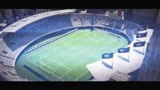 Intro BAM eSport - Soccer Stadium Animation - Cinema 4D / After Effects