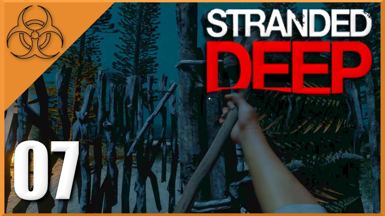 eine h tte bauen stranded deep 07 deutsch german let 39 s play youtube. Black Bedroom Furniture Sets. Home Design Ideas