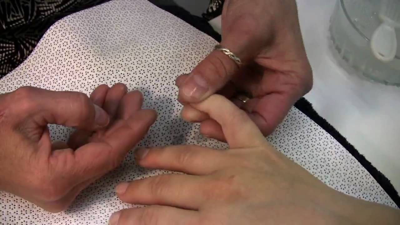 Nail Care : How to Manicure Short Nails - YouTube