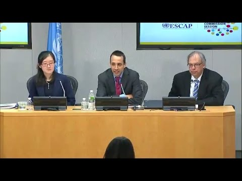 UN Economic and Social Survey of Asia and the Pacific 2017 - Press Conference