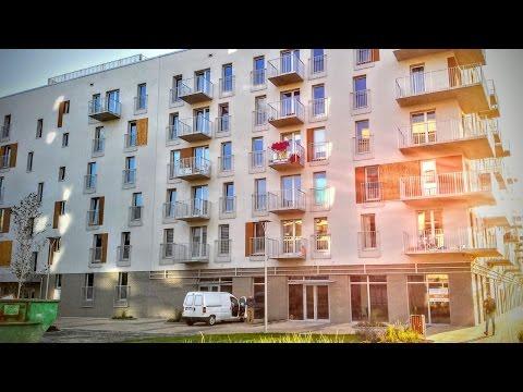 видео: #271 Квартира после стройки в Польше. Двери, стены, два окна.
