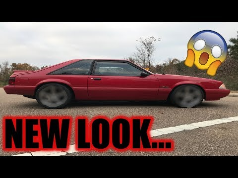 Testing different looks for the coyote swapped fox body *THIS IS SEXY*
