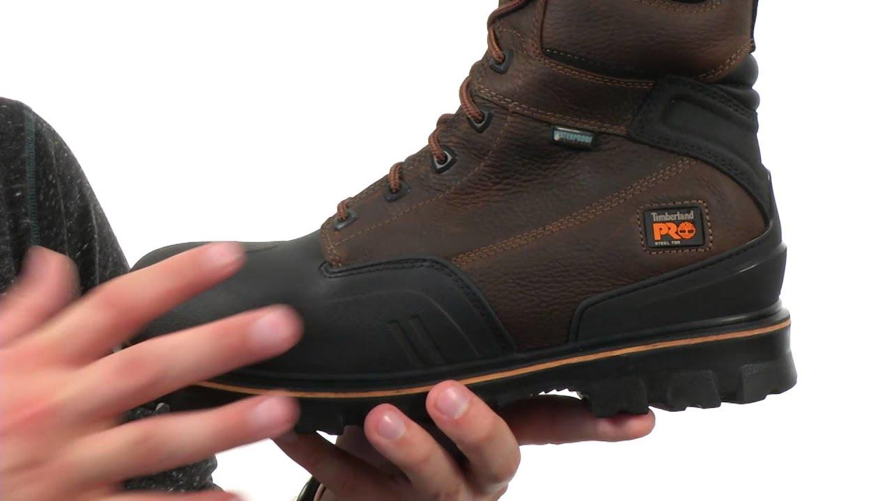Timberland PRO Men's 8 Rigmaster XT Steel Toe Waterproof