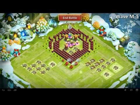 Castle Clash - Moltanica The Base Mini TH 11- TH 18
