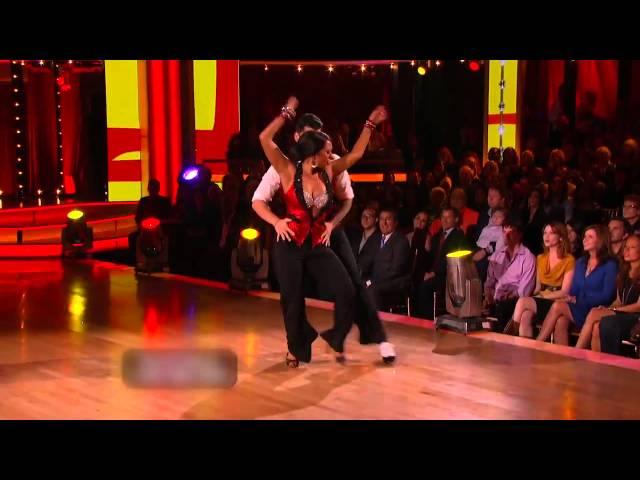 Rob Kardashian & Cheryl Burke Dance The Cha Cha - DWTS Week 6