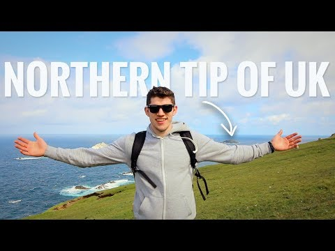 Northernmost tip of the British Isles | Unst, Shetland