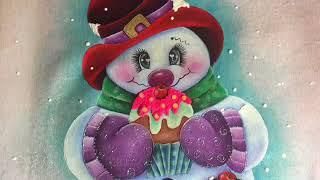 Muñeco De Nieve Terminado Con Cony
