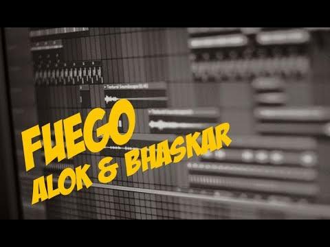 Alok & Bhaskar - Fuego  FL Studio