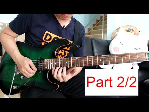 Download Youtube: How to play : Morning Star - Vinnie Moore Lesson Part 2/2 by Nut