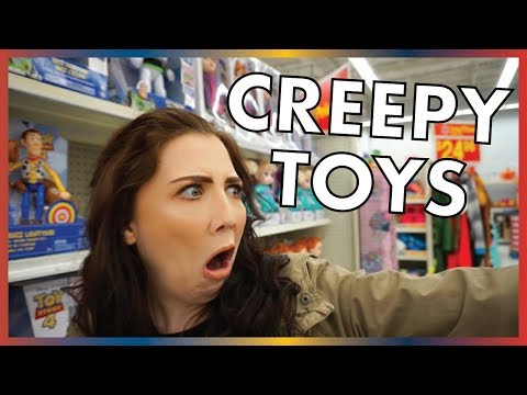 We Bought The CREEPIEST Toy In Walmart