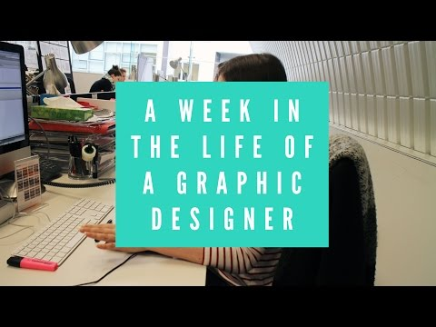 VLOG | 5 Days in the life of a Graphic Designer