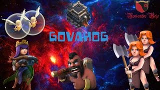 QUEEN WALK + GOVAHOG ayuntamiento 9/Guerra contra Rusos/Clash of Clans