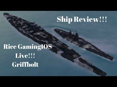 Warship Craft: Ship Review On Twitter with Rice GamingIOS !!!
