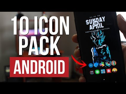 10 ICON PACK ANDROID Of Paid Free 2018 The Best of the Play Store | JeaC