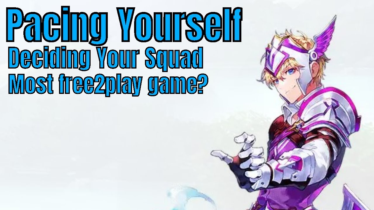Knights Chronicle: Pacing yourself/Deciding Your Squad/KC most