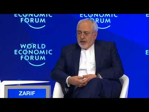 Davos 2017 Javad Zarif, Minister of Foreign Affairs of the Islamic Republic of Iran