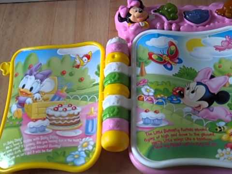 Disney Baby Minnieu0027s Sweet Book By Clementoni
