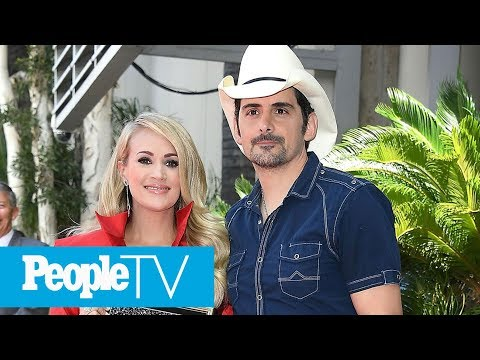 Carrie Underwood & Brad Paisley To Host Their 11th CMA Awards | PeopleTV