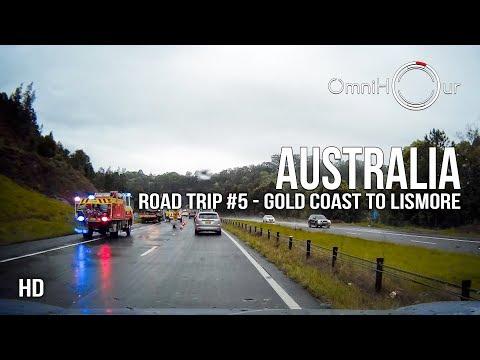 Road Trip Australia | East Coast - Part 5 - Gold Coast To Lismore NSW [1080HD]