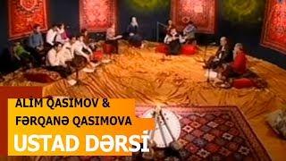 Alim Qasımov & Fərqanə Qasımova & Hacı Aqil Məlikov -  Ustad Dərsi - İctimai TV