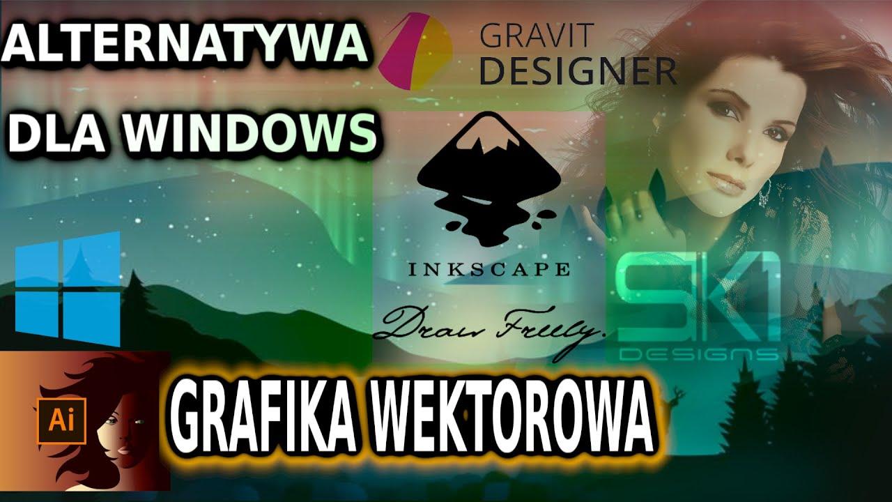 [Alternatywa dla Windows] Draw, Inkscape, Gravit SK1 - Zamienniki Adobe Illustrator dla Linuxa