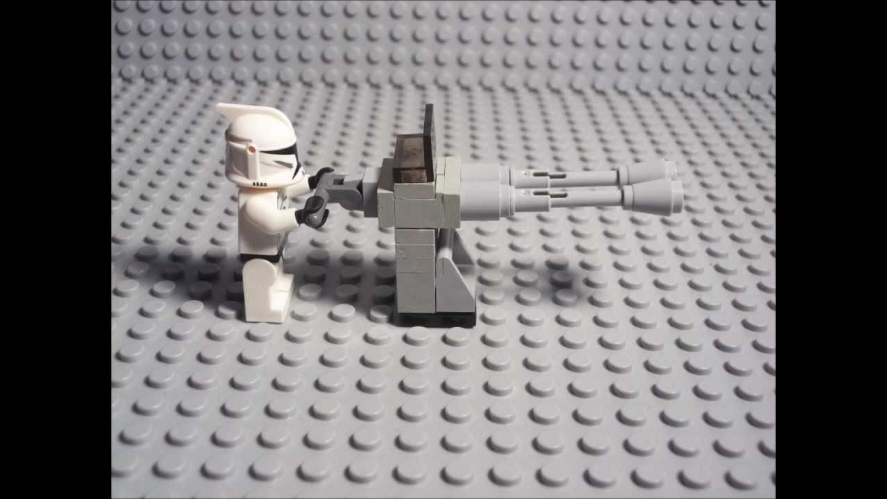 How to build a Lego Turret 1  YouTube