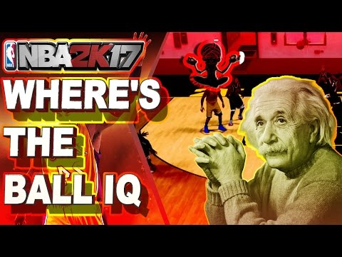 THE LACK OF IQ IN THE 2K COMMUNITY   PERFECT COMBINATION  IN 2K -  NBA 2K17 BRUTAL THOUGHTS