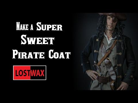 How to make a Pirate Coat. DIY frock coat.