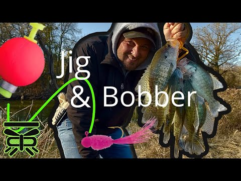 HOW To Catch CRAPPIE With A JIG U0026 BOBBER! 🎣